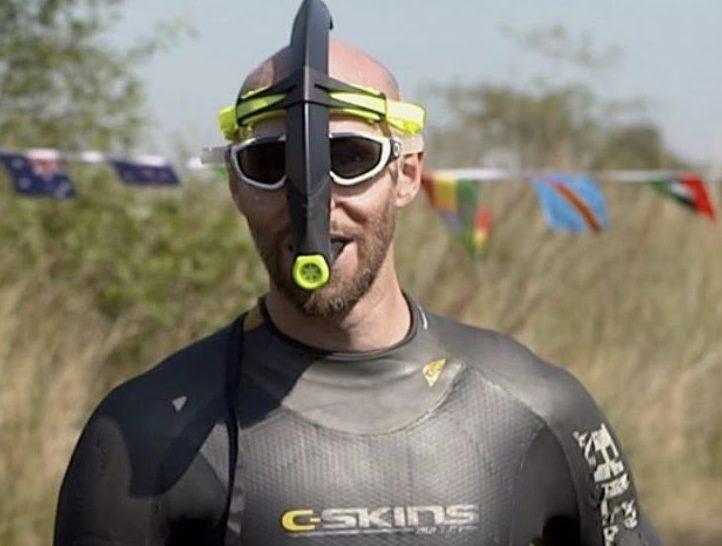 Bog Snorkelling champ Neil Rutter