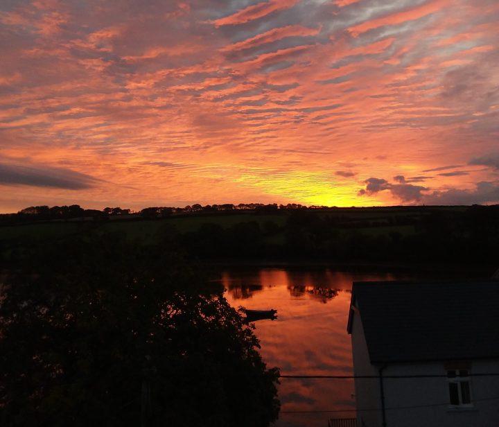 Sunrise from Argo Villa